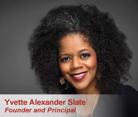 Sales Coach Yvette Alexander Slate, Founder and Principal
